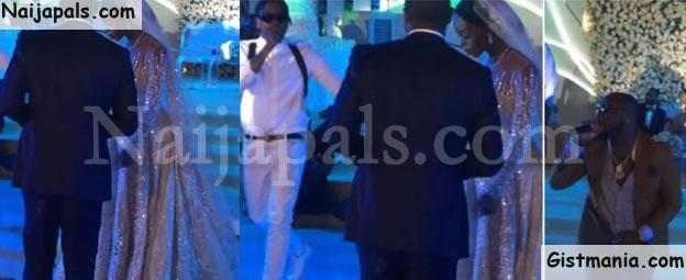 Watch Runtown And Davido's Performances @ Senator Saraki's Daughter's Wedding In Abuja