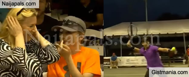 Couple Interrupts Tennis Game With Loud Sex Noise In Florida (VIDEO)