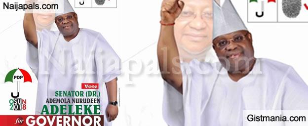 My Governorship Ambition Is a Mandate From God – Davido's Uncle, Sen. Isiaka Adeleke
