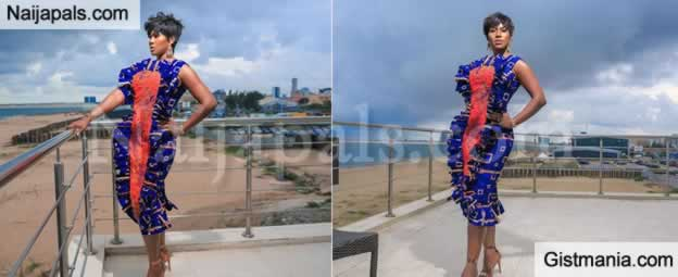 HOT !!!:  Lovely Photos Of Actress, Stephanie Okereke As She Steps Out Rocking Beautiful Native Attire