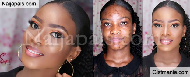 Checkout This Amazing Before And After Makeup Transformation That Got Everyone Talking - Gistmania