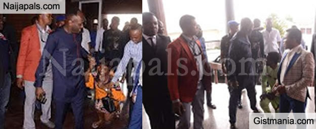 PHOTOS !!!:  Apostle Suleman Storm Enugu State In a Never-Ending Convoy As Followers Knee To Greet Him