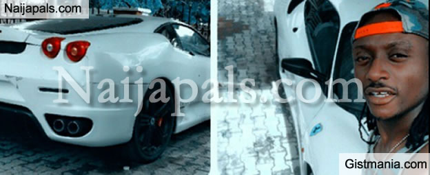 Terry G Poses With His Newly Acquired Ferrari, Flaunts it on Social on