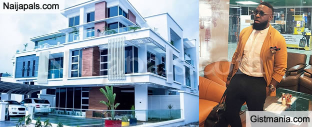Timaya's Completed Multi-Million Naira Mansion Is So