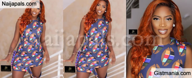 HOT!!!: TIWA SAVAGE AS SHE FLAUNTS MAJOR CURVES IN NEW PHOTOS