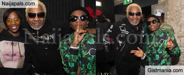 Lovely Photos Of Tiwa Savage & Wizkid As They Hang Out With