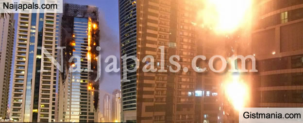 A Huge Fire This Morning Engulfed One Of The Worldu0027s Tallest Residential  Towers In Dubai. The Fire Broke Out At About 2am On Saturday In The  86 Storey Torch ...