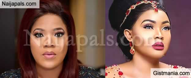 FIGHT 2-  Mercy Aigbe Replies Toyin Aimakhu Abraham, Insist Ex-Husband Was Better Off Without Her!