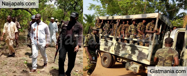 Soldiers Present As Fulanis Hold Peace Meeting In Kogi State