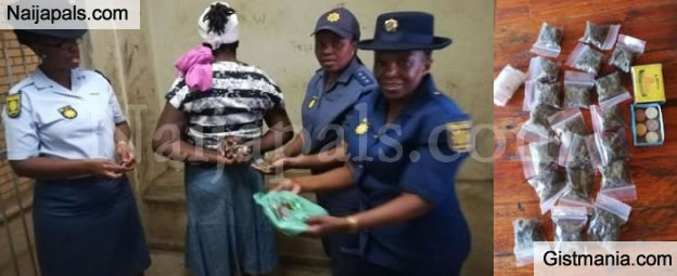 LORD!!!: 40 Years Old Mother Caught Selling Hard Drugs To Primary School Students (Photos)