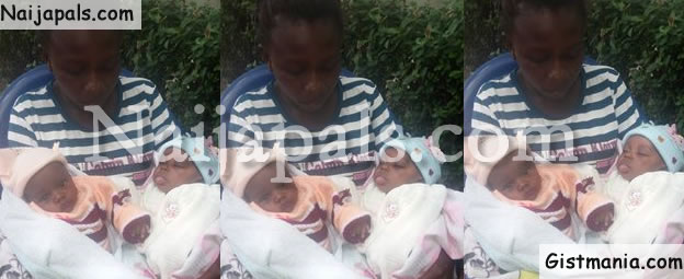 Husband Disappears As Wife Gives Birth To Twins In Abuja (PHOTO)