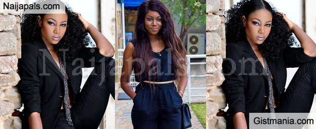 Yvonne Nelson's Half-Naked Photos Surfaces As She Gets Dragged Over Her S3x For Mark Comment
