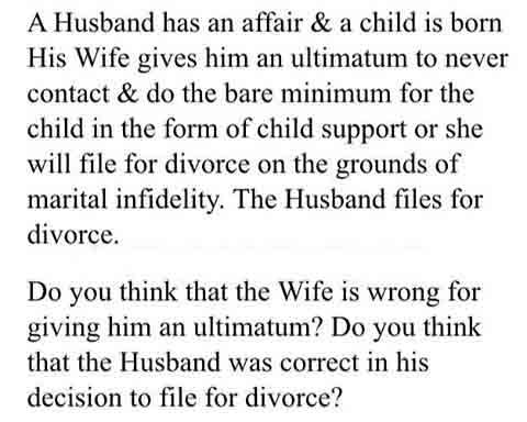 Cheats husband wife his when a on 30 Subtle